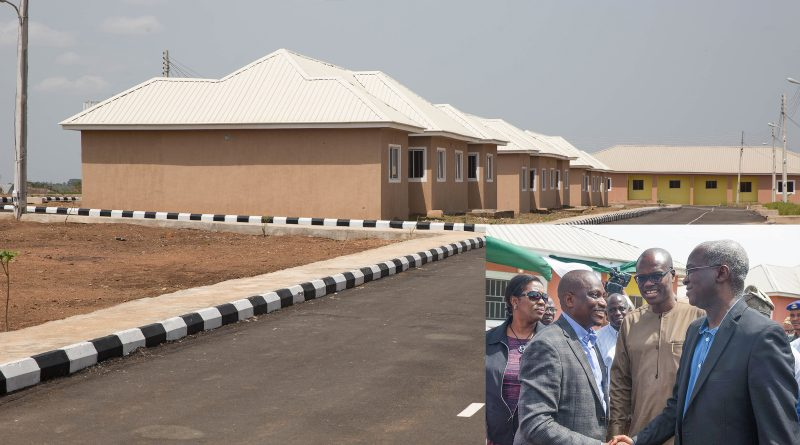 Fashola Commissions 100 Unit Housing Project in Ogbomosho, Oyo State