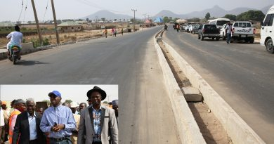 Fashola Inspects Highway Projects in Gombe and Taraba States