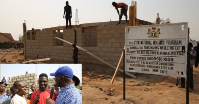 Fashola Inspects Ongoing Construction of Units Under FG's National Housing Programme in Jalingo, Taraba State